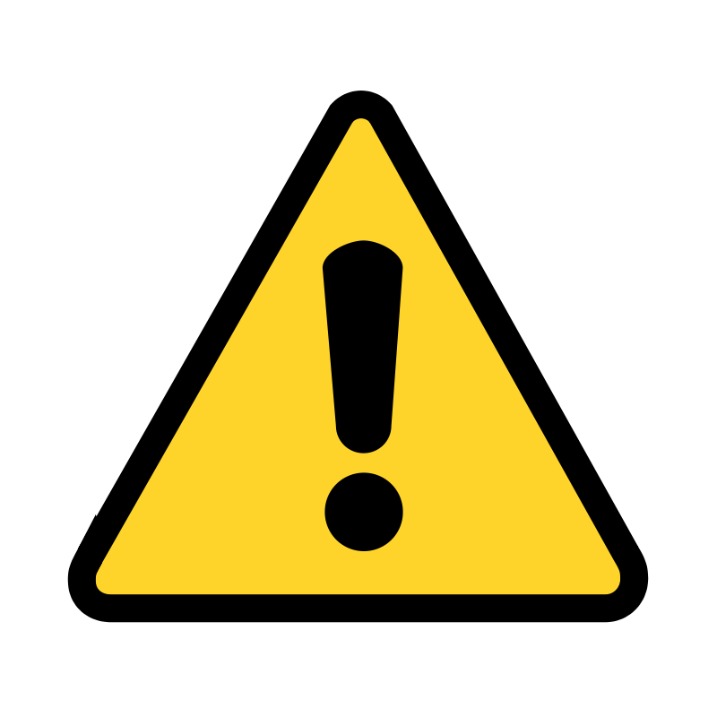 image of a caution sign