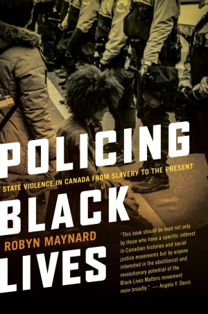 Cover of book title Policing Black Lives